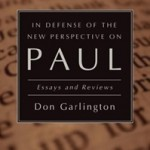 In Defense of the New Perspective on Paul: Essays and Review, reviewed by Amos Yong