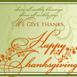 Giving Thanks Turns Tragedy into Triumph