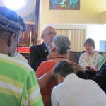 ADOTS 2014 Father Bill praying
