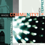 Merold Westphal: Whose Community? Which Interpretation?