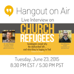 Live interview on Church Refugees