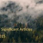 Fall 2015: Other Significant Articles