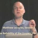Craig Keener: Matthew, Lecture 1
