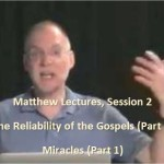 Craig Keener: Matthew, Lecture 2
