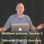 Craig Keener: Matthew, Lecture 3