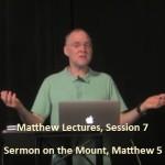 Craig Keener: Matthew, Lecture 7