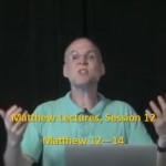 Craig Keener: Matthew, Lecture 12