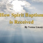 How Spirit Baptism is Received