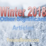 Winter 2018: Other Significant Articles