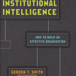 Gordon Smith: Institutional Intelligence