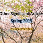 Spring 2019: Other Significant Articles