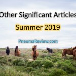 Summer 2019: Other Significant Articles
