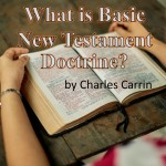 What is Basic New Testament Doctrine?