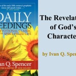 Daily Seedings: The Revelation of God's Character
