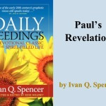 Daily Seedings: Paul's Revelation