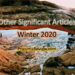 Winter 2020: Other Significant Articles