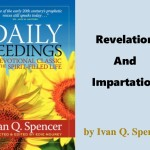 Daily Seedings: Revelation And Impartation