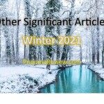 Winter 2021: Other Significant Articles